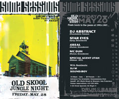 SOMA Sessions May flyer